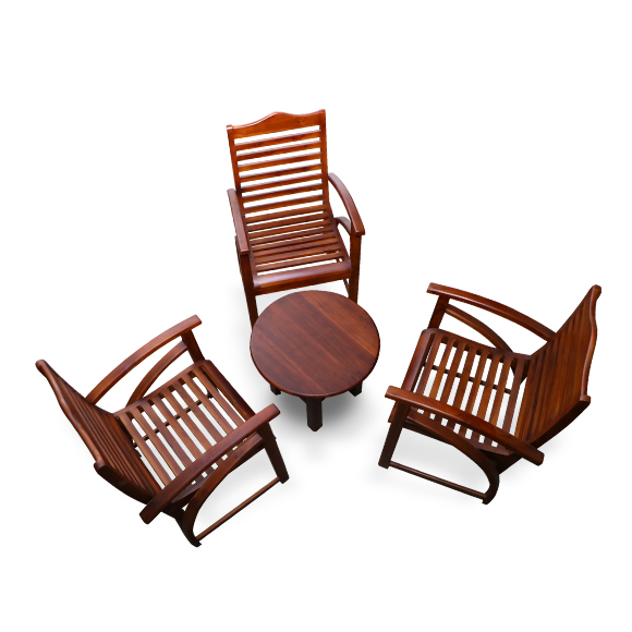 Varenda Chair Set With Coffee Table