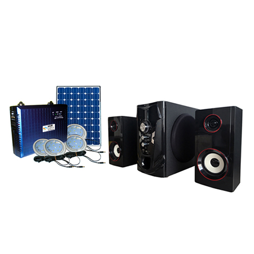Olik Solar Lighting System + Home Theater 2.1