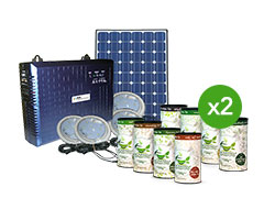 Olik Solar Lighting System + Teaspire Herbal Tea Pack X 2