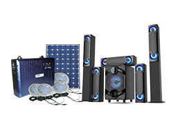 Olik Solar Lighting System + GL 5.1 Multimedia System