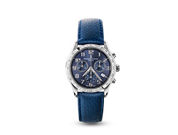 Iris Chronograph Watch - Deep Blue